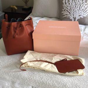 Mansur Gavriel Avion/Brandy Bucket Bag